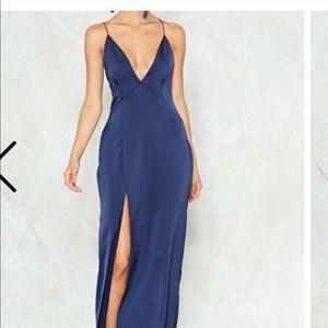 NWT Nasty Gal maxi dress